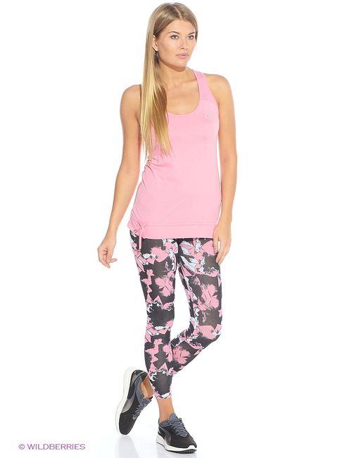Puma | Женская Розовая Майка