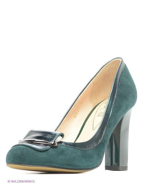 Moda Donna | Женские Зелёные Туфли