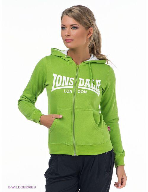 Lonsdale | Женские Зелёные Толстовки