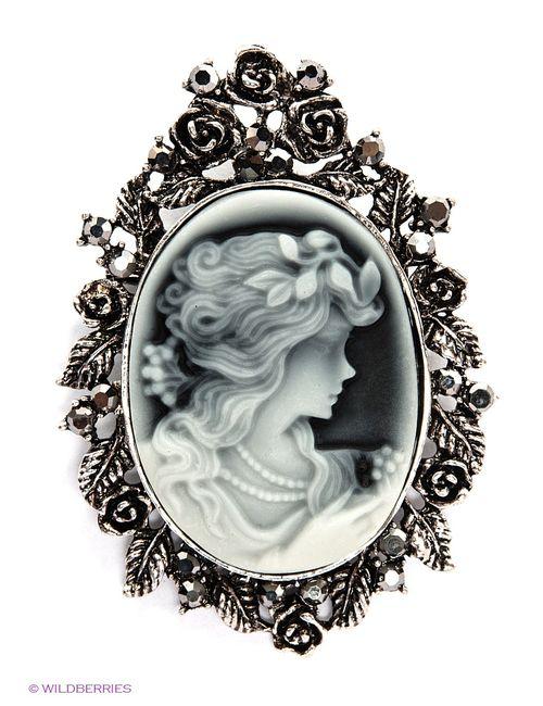 Royal Diamond | Женские Чёрные Броши