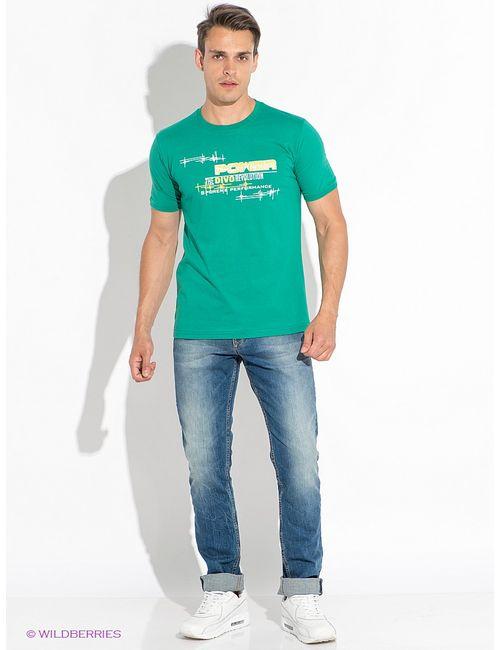 D.S | Мужские Зелёные Футболки