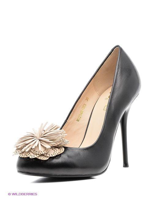 Moda Donna | Женские Чёрные Туфли