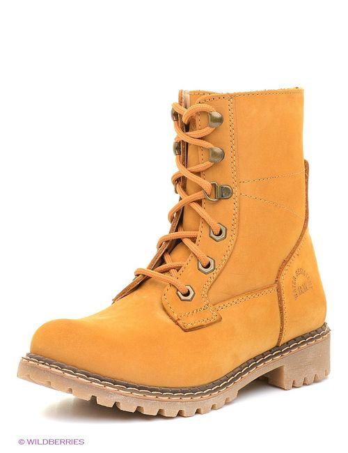 Best Walk | Женские Оранжевые Ботинки
