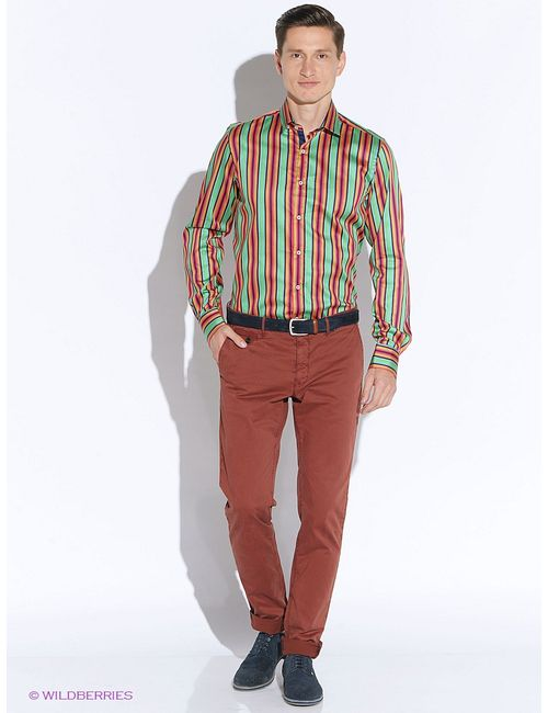 Mondigo | Мужские Бирюзовые Рубашки