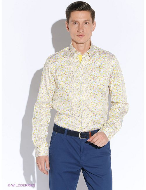 Mondigo | Мужские Жёлтые Рубашки