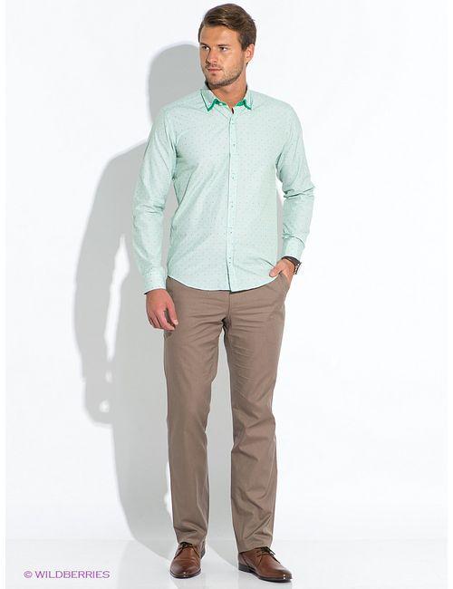 BAWER   Мужские Зелёные Рубашки