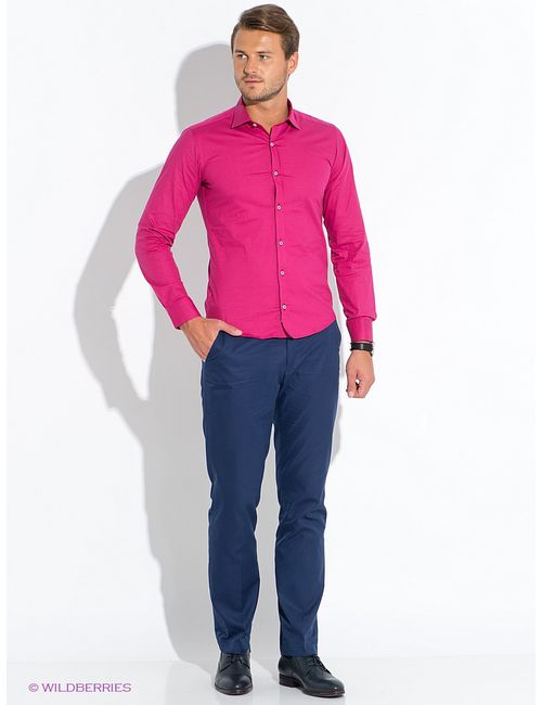 BAWER | Мужские Малиновые Рубашки