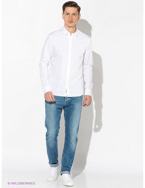 Calvin Klein | Мужские Белые Рубашки
