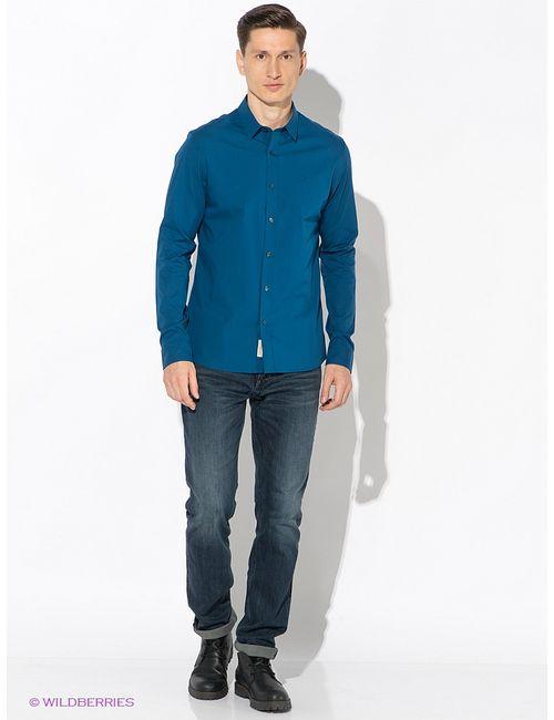Calvin Klein | Мужские Синие Рубашки