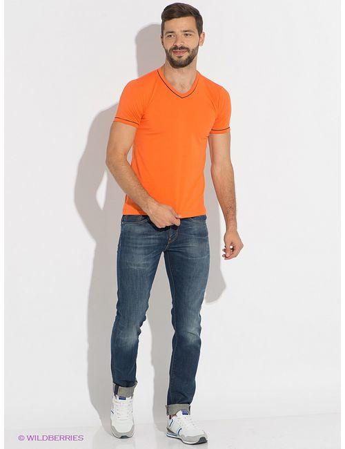 D.S | Мужские Оранжевые Футболки