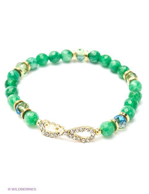 Taya | Женские Зелёные Браслеты
