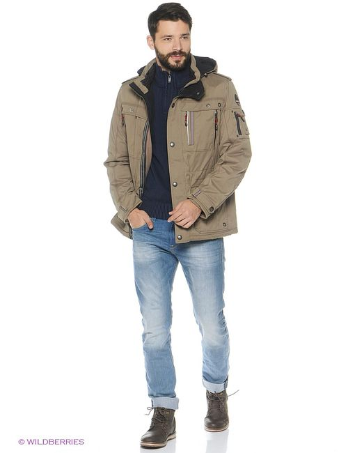 VIZANI | Мужские Коричневые Куртки