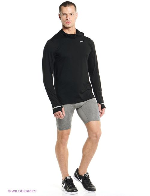 Nike   Мужские Серые Шорты