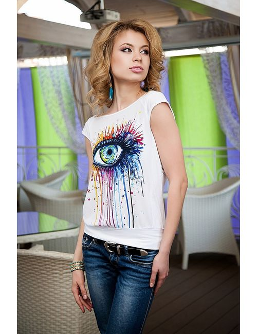 Vision Fashion Srore | Женские Белые Блузки Vision Fashion Store