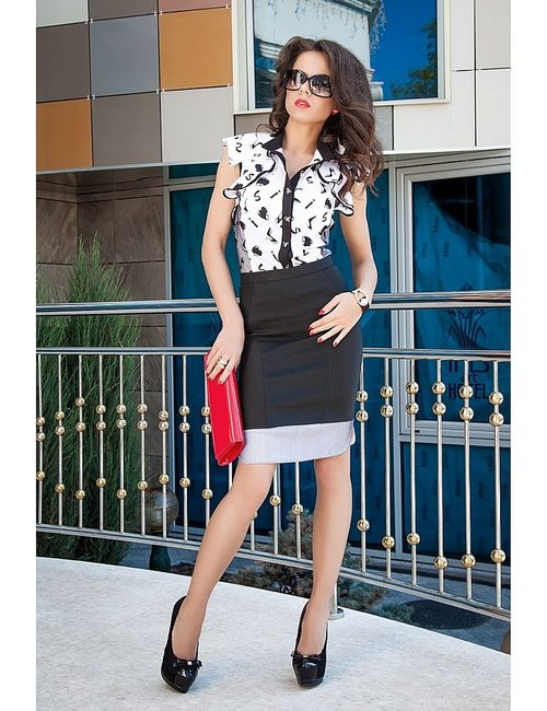 Vision Fashion Srore | Женские Чёрные Юбки