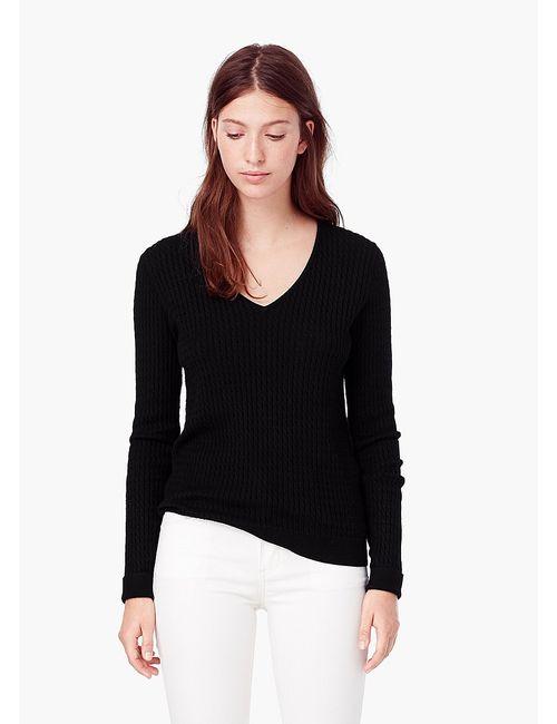 Mango | Женские Чёрные Пуловеры