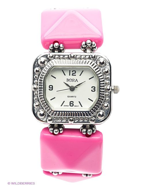 Bora | Женские Розовые Часы