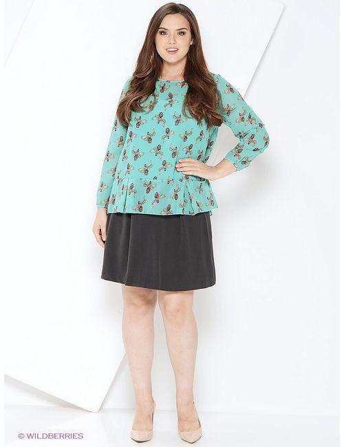 Milana Style | Женские Бирюзовые Блузки