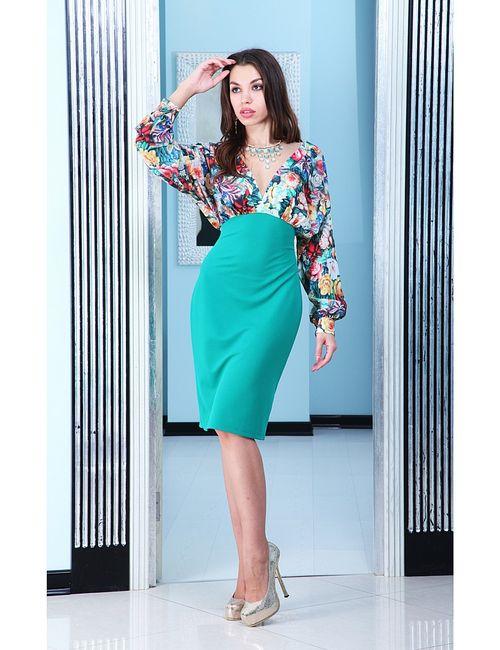 Lussotico | Женские Бирюзовые Платья