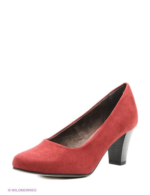 Tamaris | Женские Красные Туфли