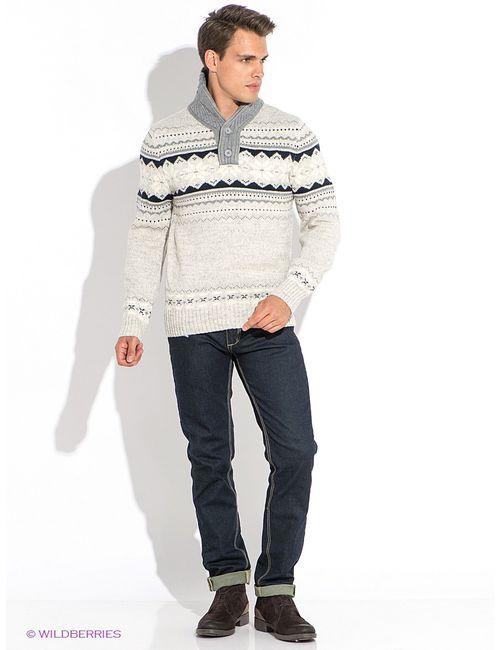 Oodji | Мужские Белые Пуловеры