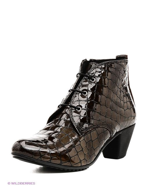 Tervolina | Женские Коричневые Ботинки