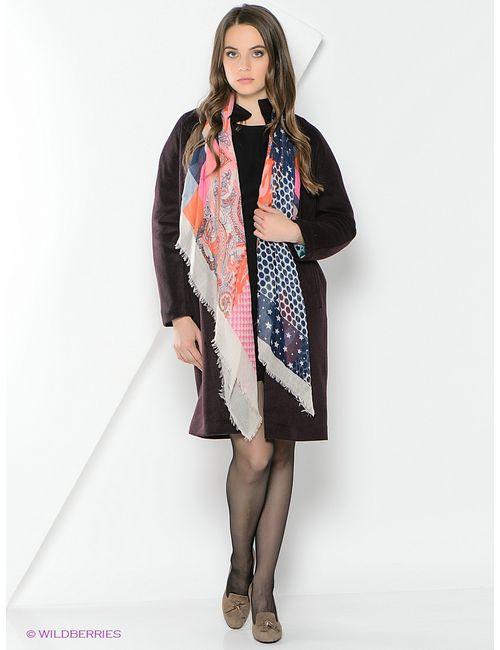 Анна Чапман | Женское Фиолетовое Пальто