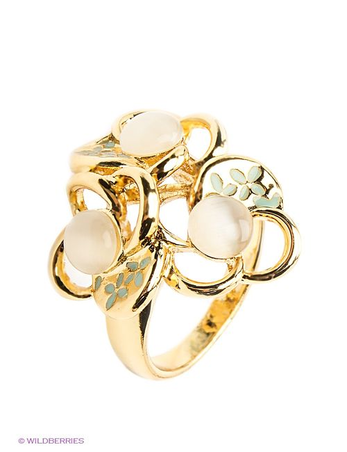 Royal Diamond | Женские Золотистые Кольца