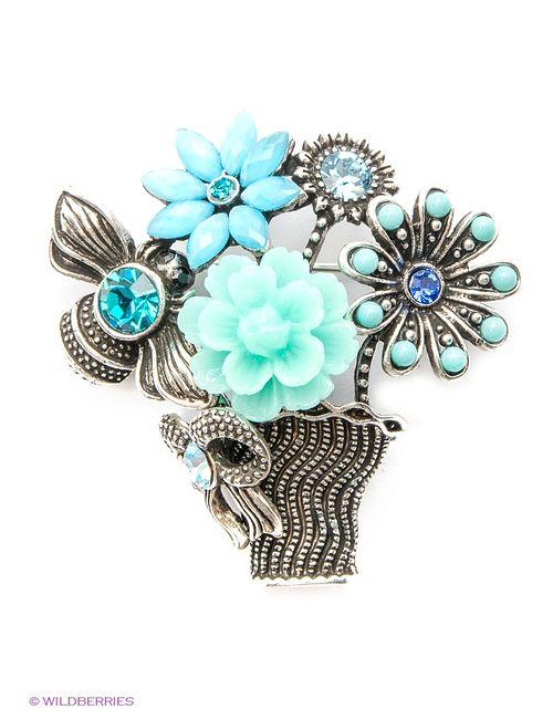 Royal Diamond | Женские Синие Броши