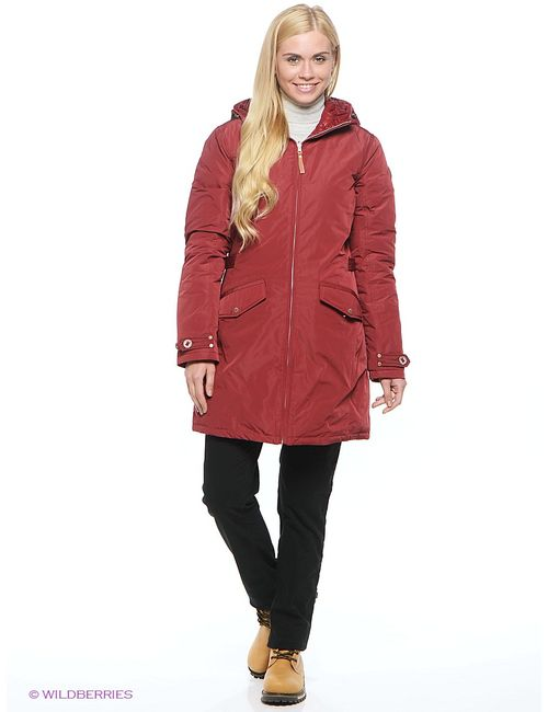 Luhta | Мужское Красное Пальто