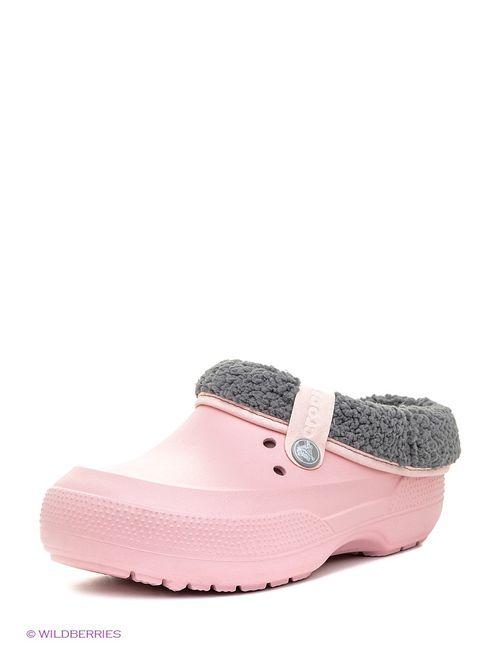 Crocs | Мужское Розовое Сабо