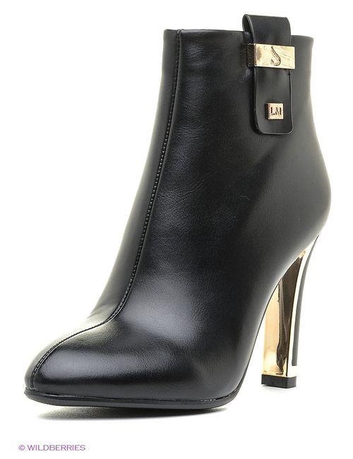 Inario | Женские Чёрные Ботинки