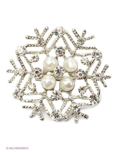 Lovely Jewelry | Женские Серебристые Броши