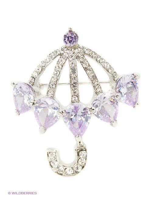 Lovely Jewelry | Женские Фиолетовые Броши