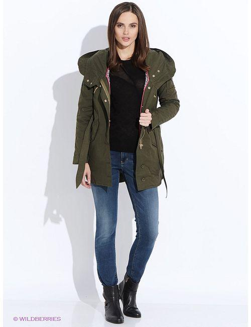 Guess | Женские Зелёные Куртки