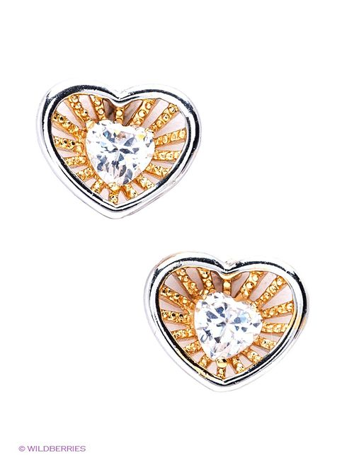 Lovely Jewelry | Женские Золотистые Серьги