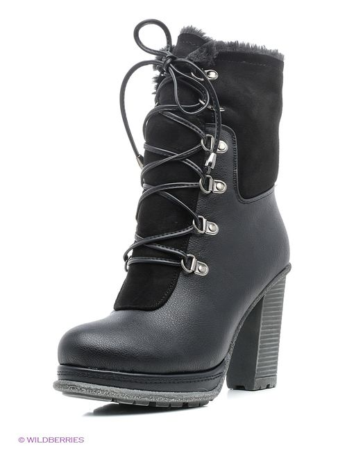 Wilmar | Женские Чёрные Ботинки