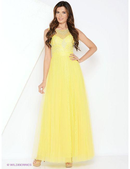 Vip Style | Женские Жёлтые Платья