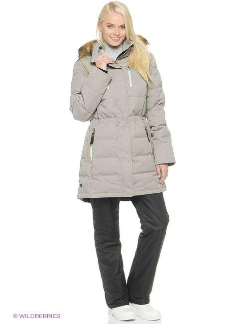 Luhta | Женское Серое Пальто