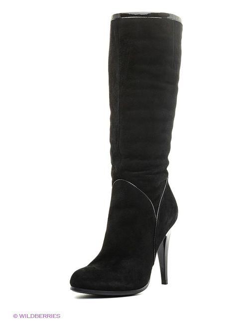 Moda Donna   Женские Чёрные Сапоги