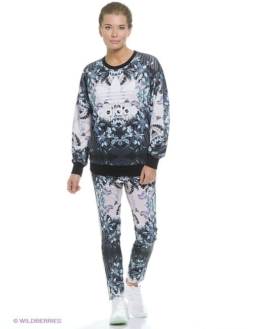 Adidas | Женские Белые Джемперы