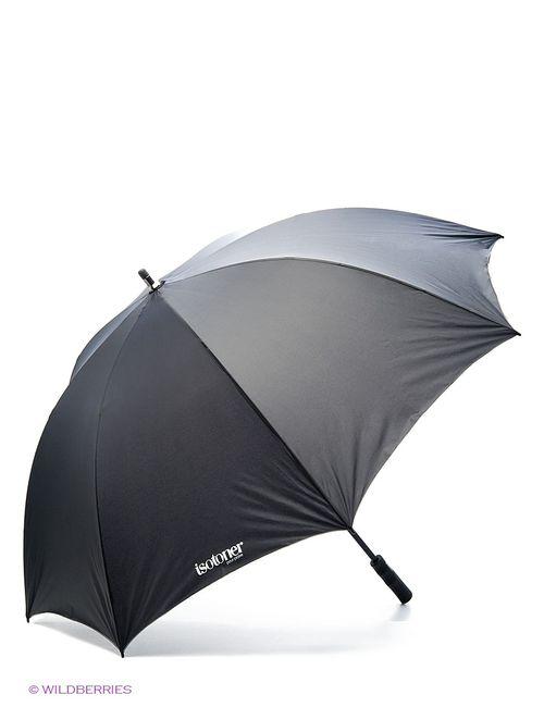 Isotoner | Мужские Чёрные Зонты