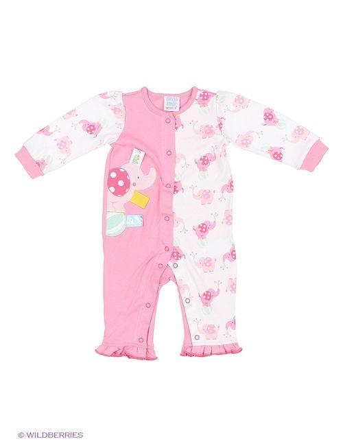 Cutie Bear | Розовые Комбинезоны
