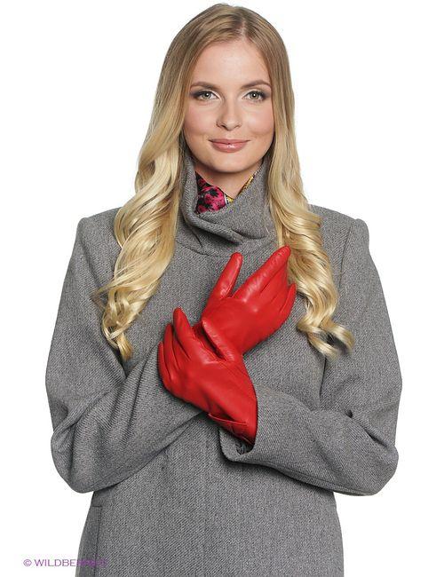 Fabretti | Женские Красные Перчатки
