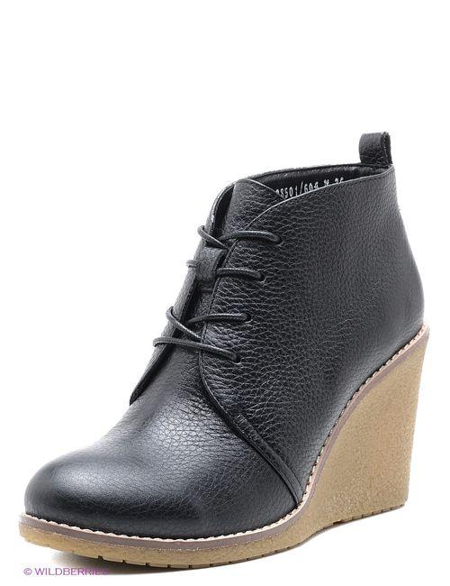 Alba | Женские Чёрные Ботинки