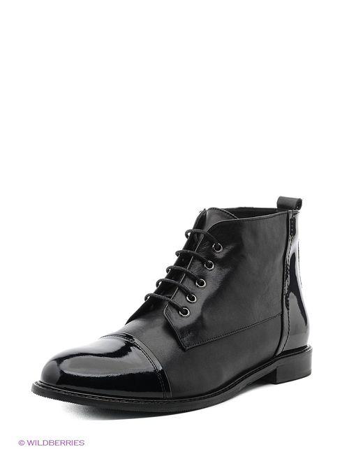 Roccol | Женские Чёрные Ботинки