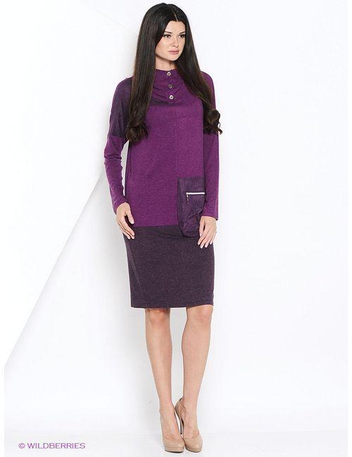 Мадам Т | Женские Фиолетовые Платья Мадам Т