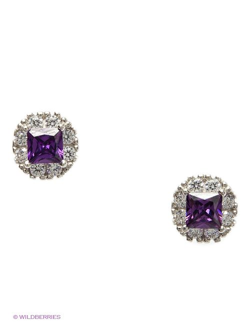 Lovely Jewelry | Женские Фиолетовые Ювелирные Серьги
