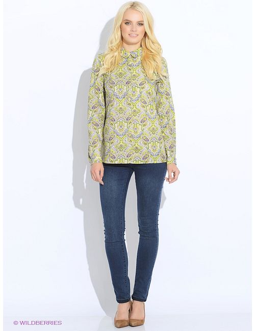 Finn Flare | Женские Зелёные Блузки