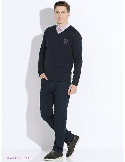 TOM TAILOR | Мужские Синие Пуловеры
